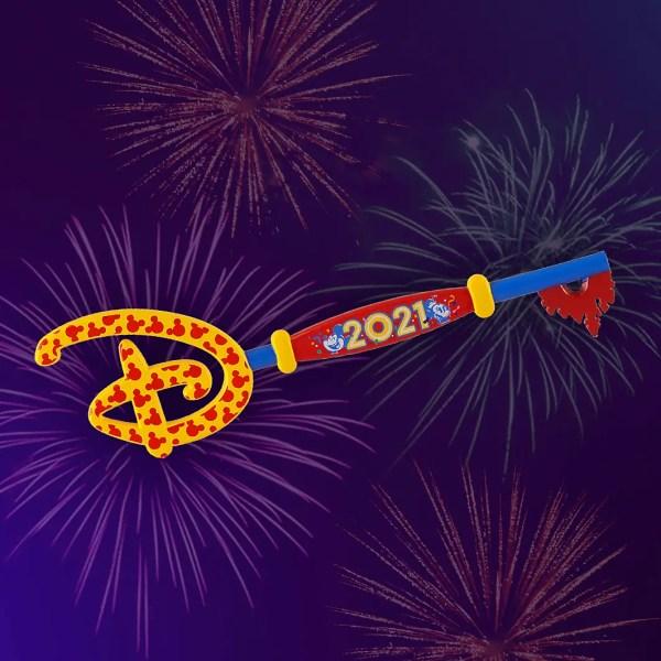 2021 Disney Key