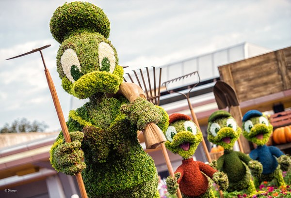 EPCOT International Flower & Garden Festival begins on March 3rd, 2021! 2