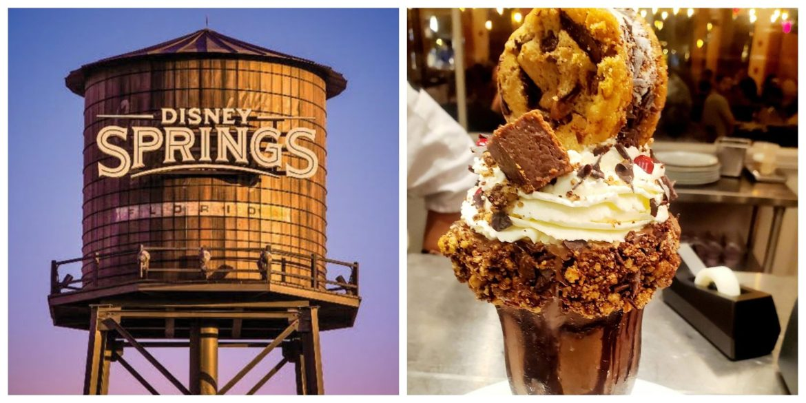 All new Chocolate Chip Cookie Sundae at Wolfgang Pucks!