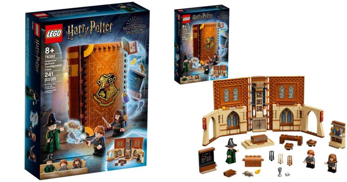 "Harry Potter ""Hogwarts Moments"" LEGO Now Available"