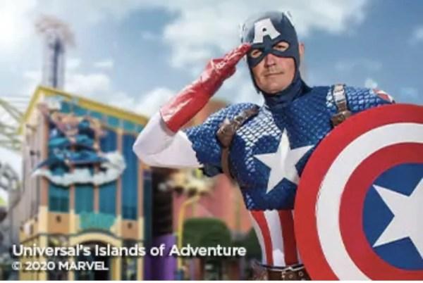 Captain America at Universal