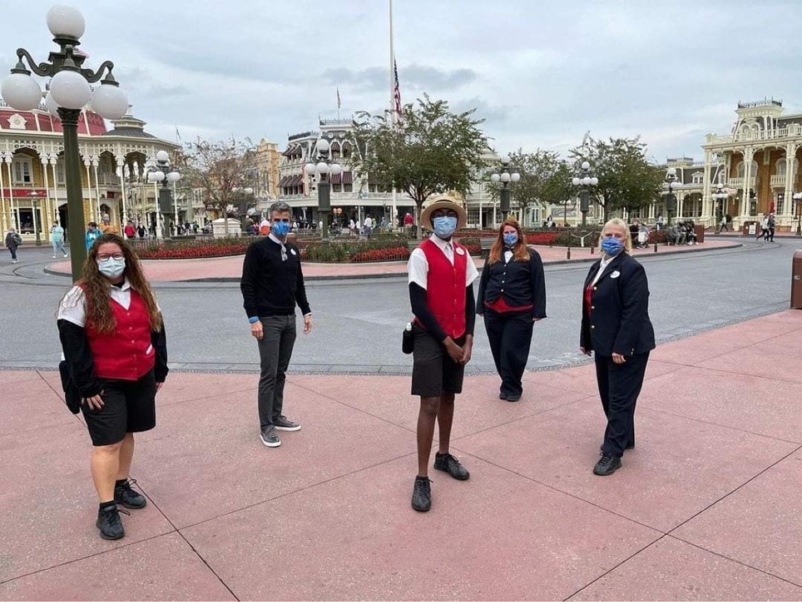 Josh D'Amaro Spotted Park Hopping at Disney World