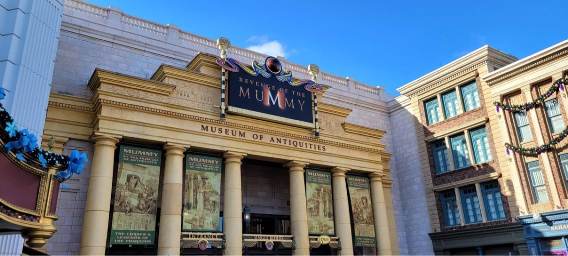 Universal's Revenge of the Mummy Reopens After Refurbishment