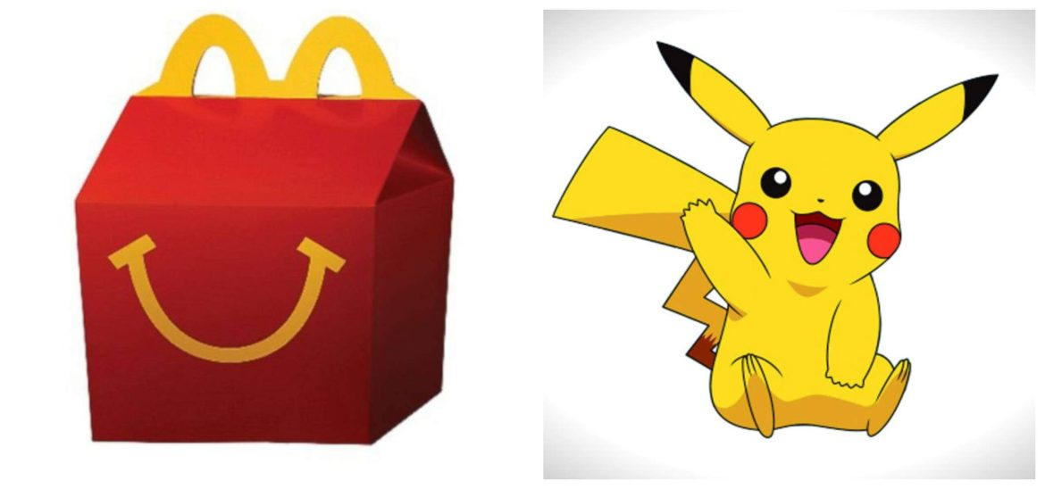 Pokemon Happy Meal Toys replace Disney Parks Collectables
