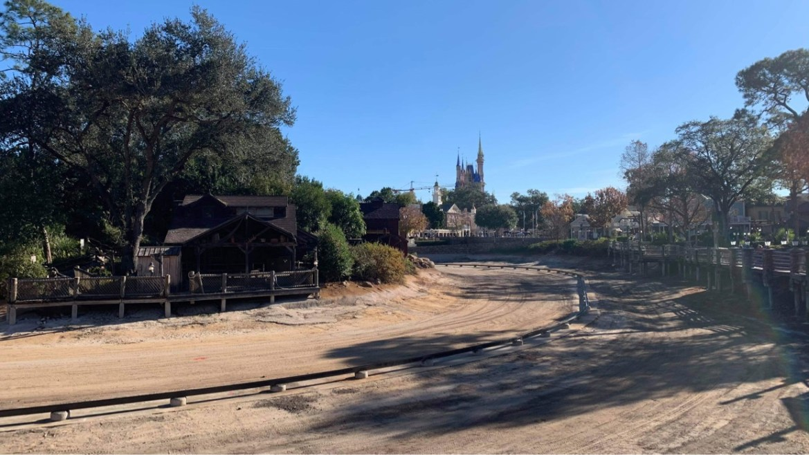 Construction continues on Rivers of America Refurbishment