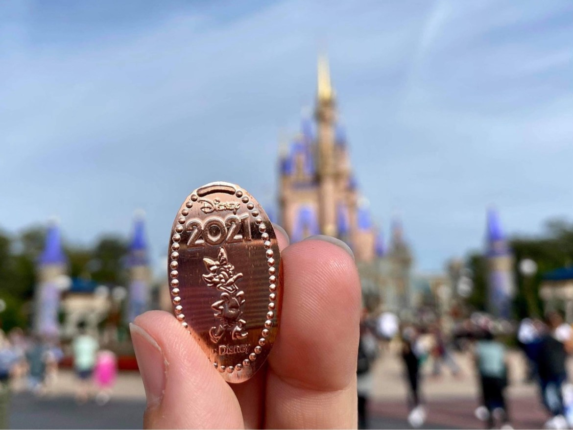 Celebrate the New Year with the 2021 Pressed Pennies now at Disney World