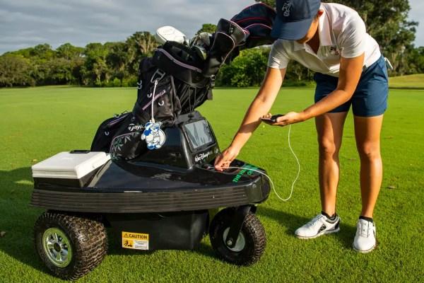 Robo golf cart