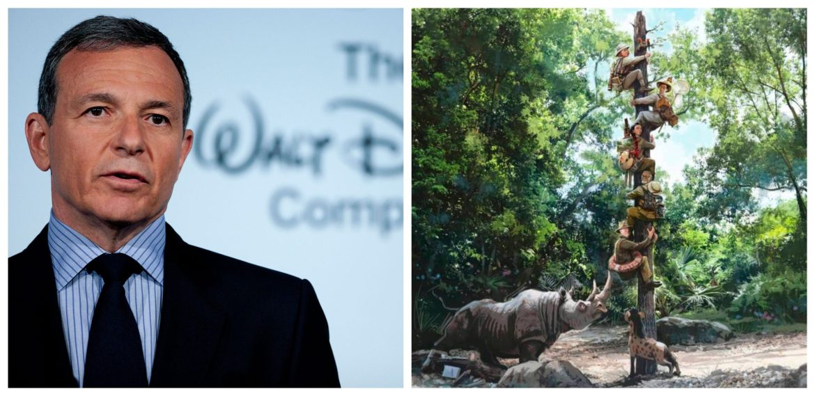 Bob Iger chimes in on Jungle Cruise Update