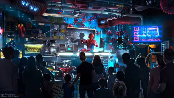 Tom Holland Avengers Campus