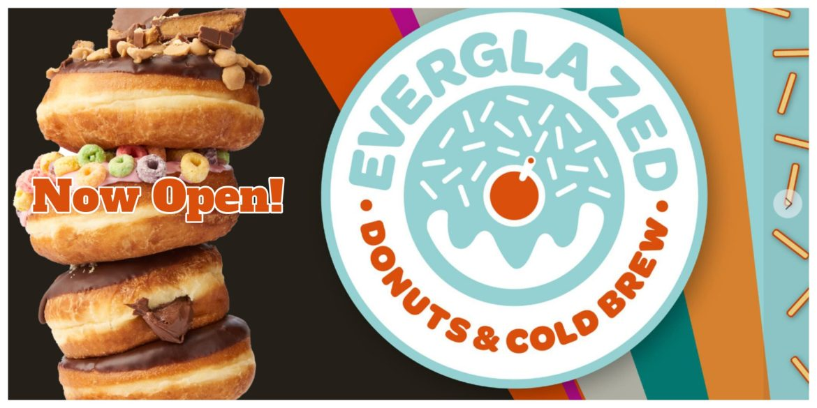 Everglazed Donuts & Cold Brew Opens today in Disney Springs!
