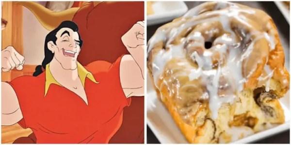 Gaston's cinnamon rolls recipe