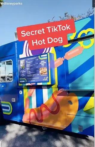 Order a super secret Hot Dog at Disney Springs that has Bacon & Peanut Butter