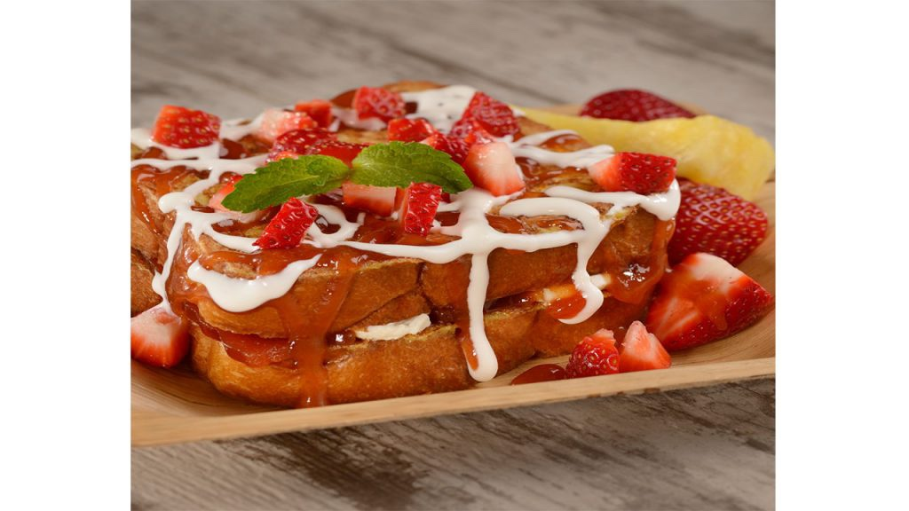 Guava Stuffed French Toast Recipe From Disney's Caribbean Beach Resort