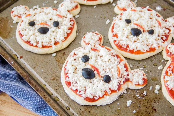 Winnie the pooh pizza