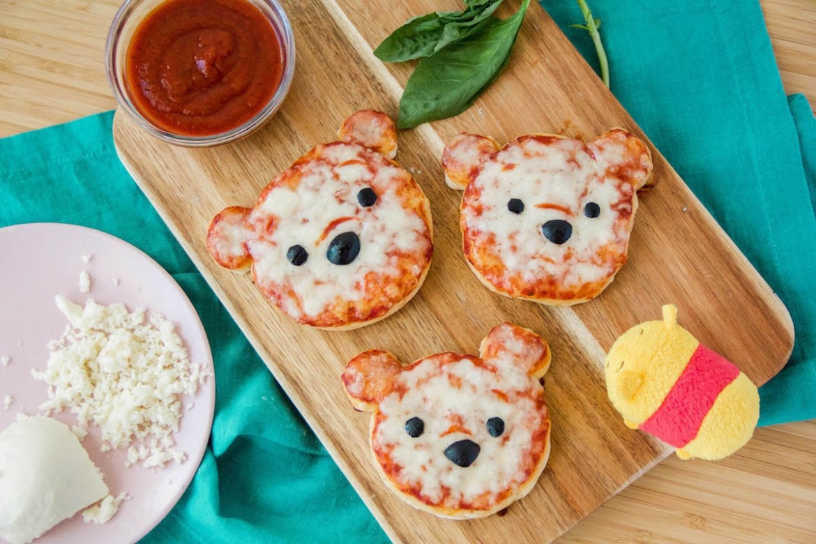 Learn How To Make The Cutest Winnie The Pooh Pizzas At Home!