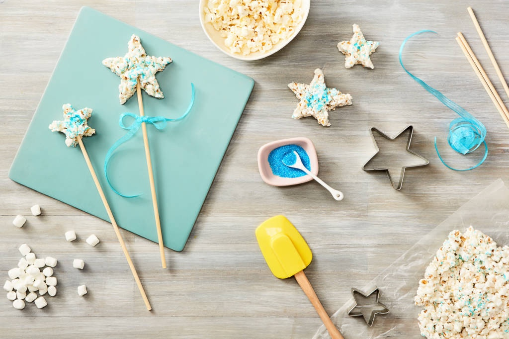 Wish Upon A Star With This Blue Fairy Popcorn Wand Recipe You Can Make At Home!