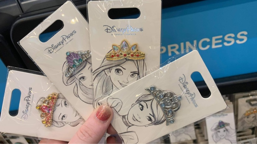 New Disney Princess Pins Arrive At Disney World