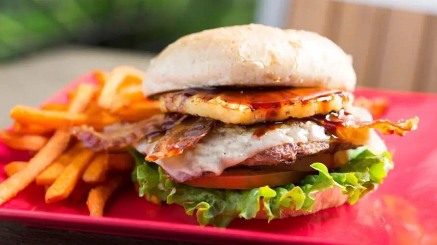 Say Aloha To This Hawaiian Cheeseburger With Green Papaya Slaw Recipe!