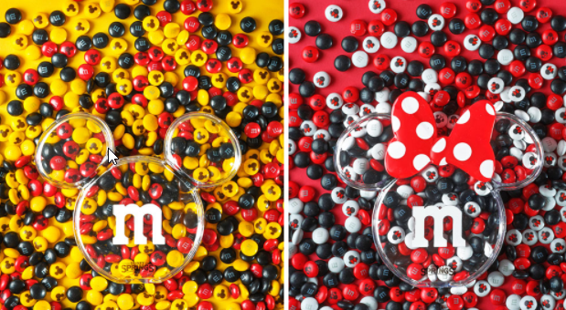 Exclusive new Mickey and Minnie M&M's coming to the M&M Store in Disney Springs
