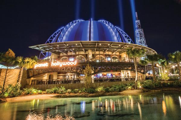 Kids can eat free on select days at Planet Hollywood for Florida Residents