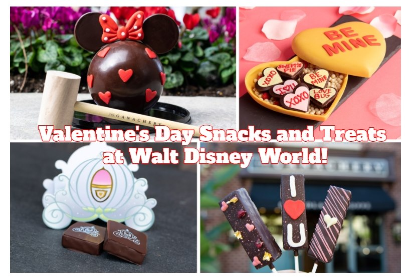 Don't miss these Valentine's Day Snacks and Treats at Walt Disney World