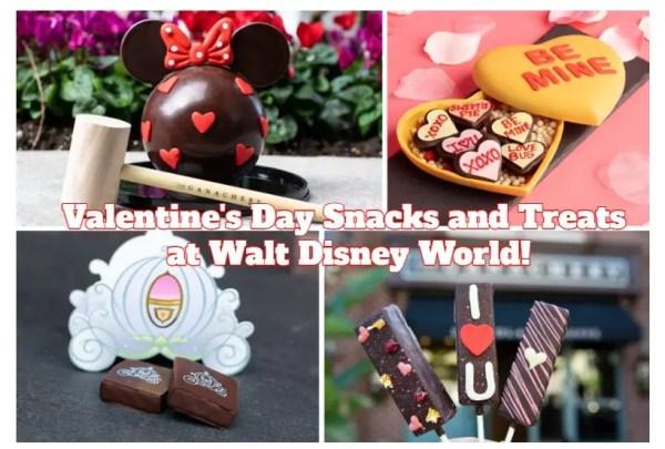 Disney World Valentines Treats