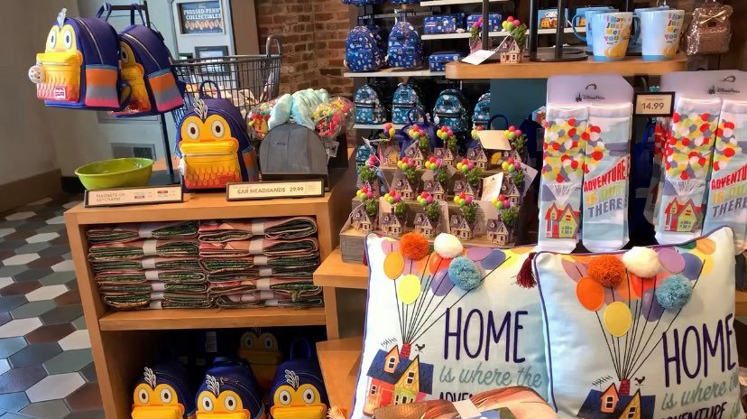 New Up Merchandise Flies into Walt Disney World