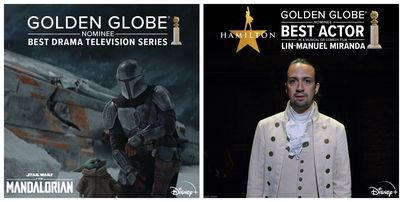 Disney+ Receives Golden Globe Nominations for 'Hamilton,' 'The Mandalorian,' and 'Soul' 1