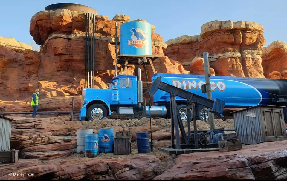 Cars-tastrophe Canyon working with local companies help to create Disneyland Paris's new Cars attraction