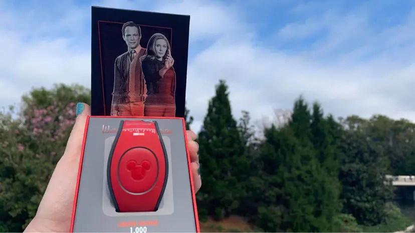 New WandaVision MagicBand Unlocks The Magic With Retro Vibes