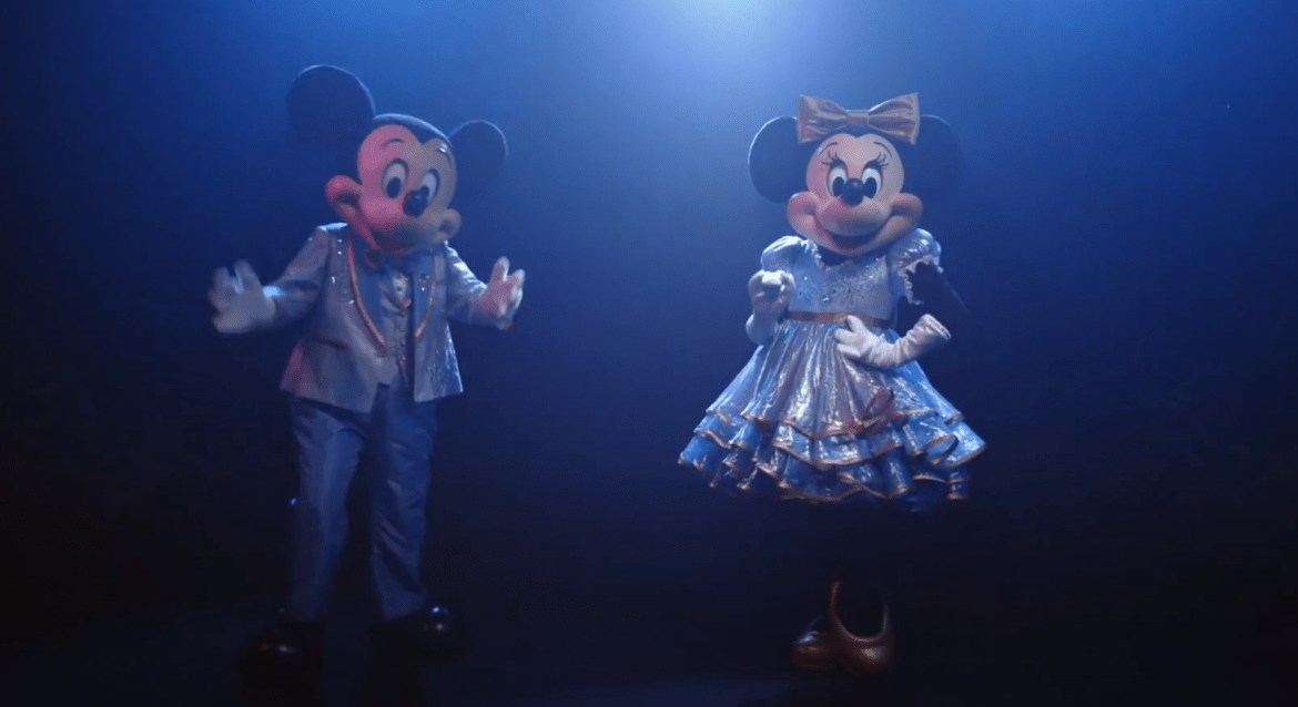 A closer look at Mickey & Minnie's 50th Anniversary outfits