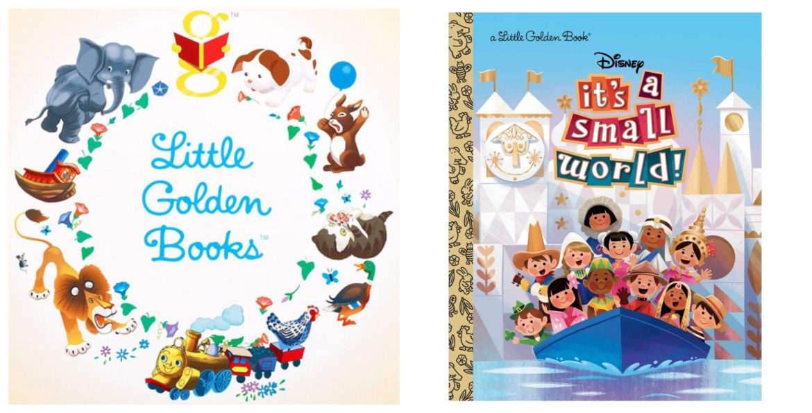 """This """"It's a Small World"""" Disney Golden Book is the Cutest Way to See the World"""