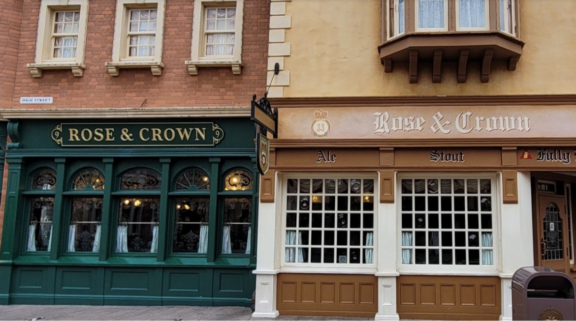 Dining Room at Epcot's Rose & Crown closing for Refurbishment