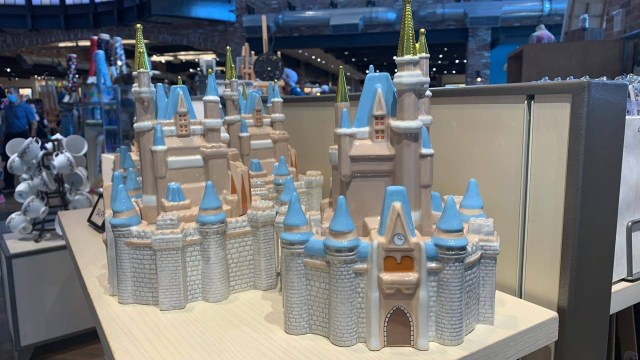 Take Home This Cinderella Castle Cookie Jar Now Available in Disney World 1