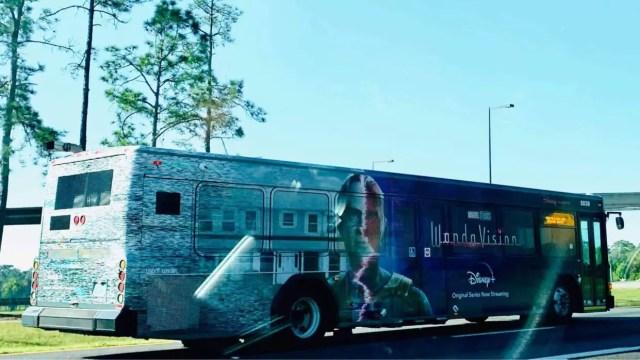 WandaVision Bus