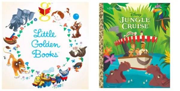 Jungle Cruise Little Golden Book