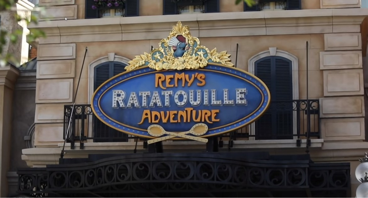 Behind the scenes look at Remy's Ratatouille Adventure from Disney's Skyliner