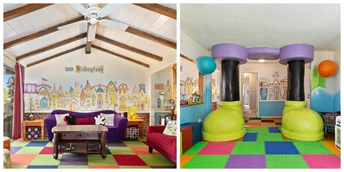 This Disney Decorated home is a dream come true and it's for sale!