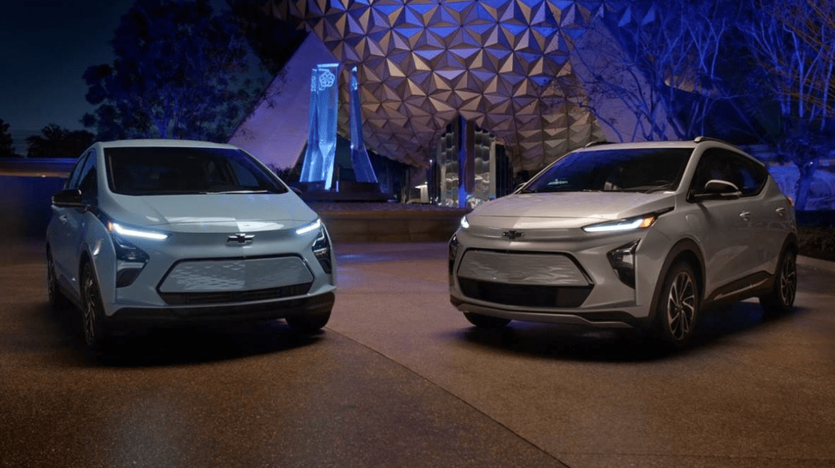 Chevy Unveils 2022 Bolt EV and Bolt EUV at Walt Disney World