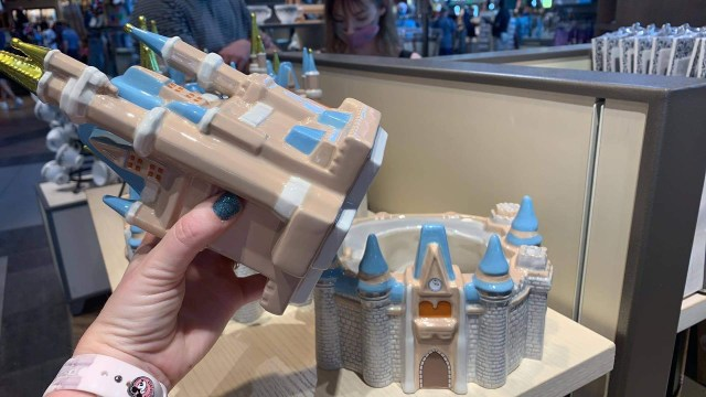 Take Home This Cinderella Castle Cookie Jar Now Available in Disney World 2