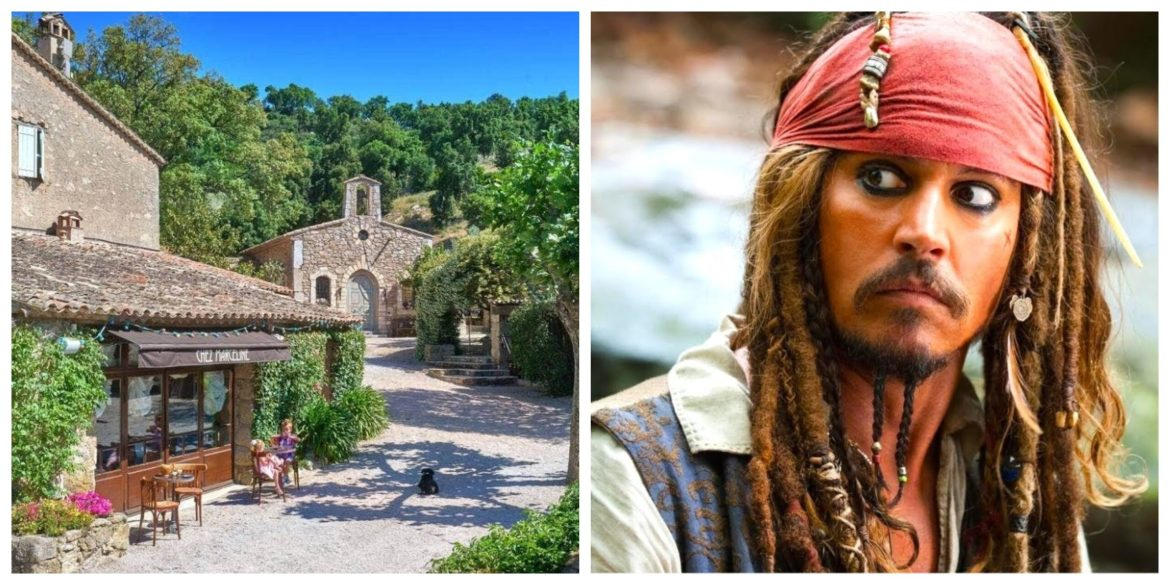 You Could Own Johnny Depp's $55.5 Million French Village