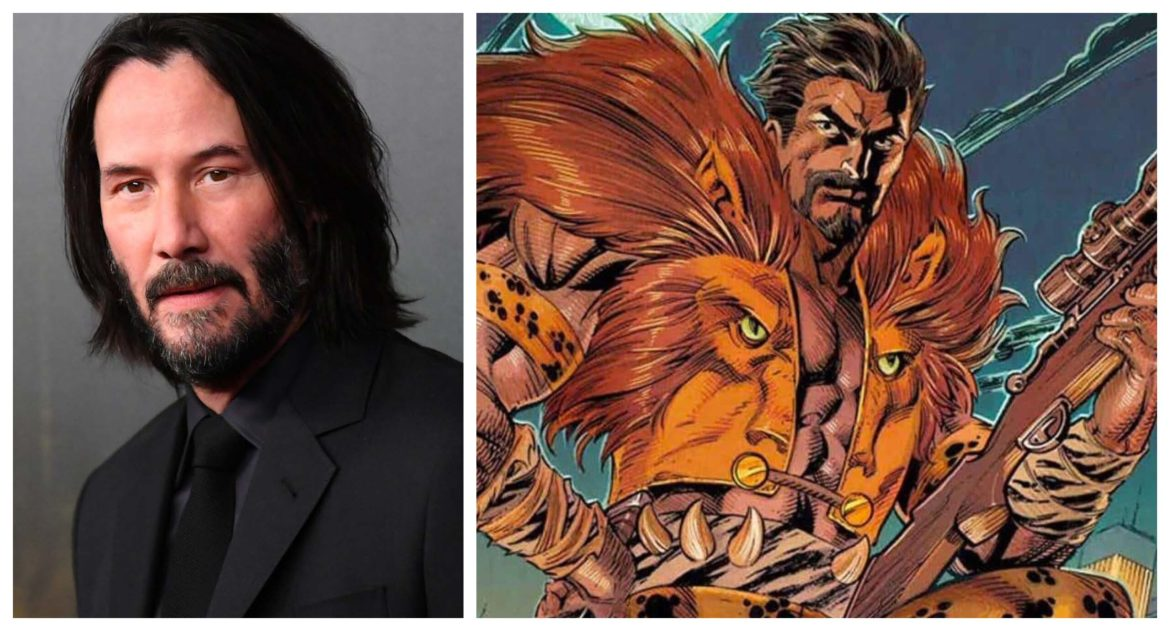 Sony Offers 'Kraven the Hunter' Role to Keanu Reeves for 'Spider-Man' Spinoff