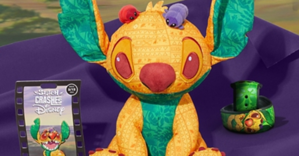 Lion King Stitch Crashes Disney Collection For March
