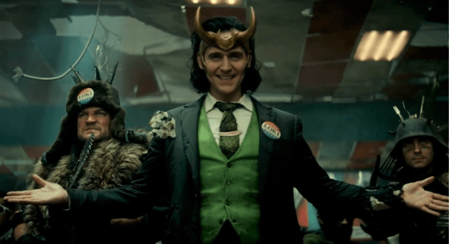 "Tom Hiddleston as Loki in the new ""Loki"" series coming to Disney+"