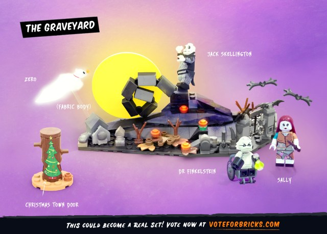 Support This Nightmare Before Christmas LEGO Project 2