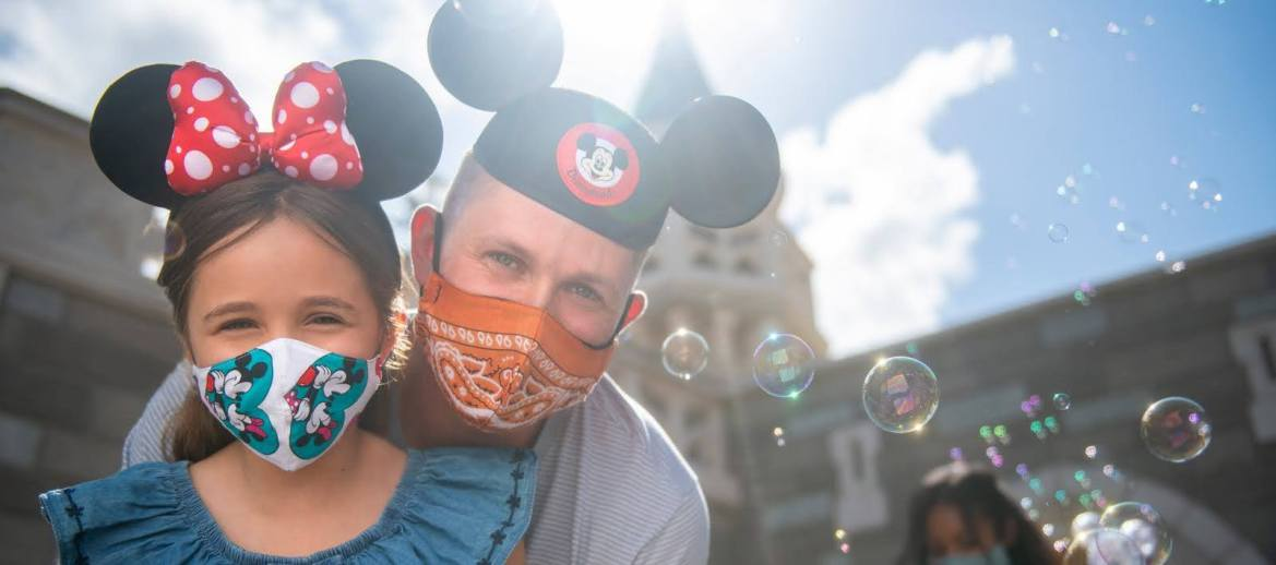 Face Masks are returning to Walt Disney World on July 30th