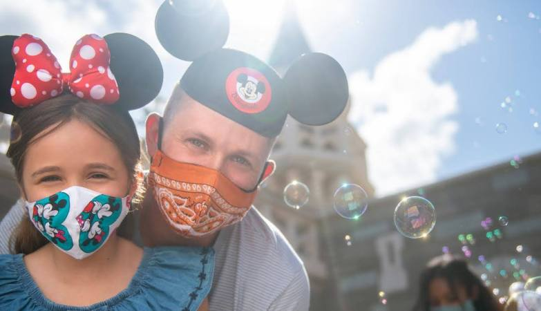 Face Masks are returning to Walt Disney World on July 30th 1