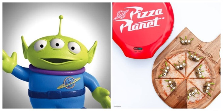 """Have Fun Making This Toy Story Alien Veggie """"Meatball"""" Pizza At Home!"""