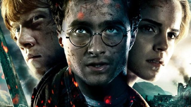 Ron Weasley Harry Potter and Hermione Granger
