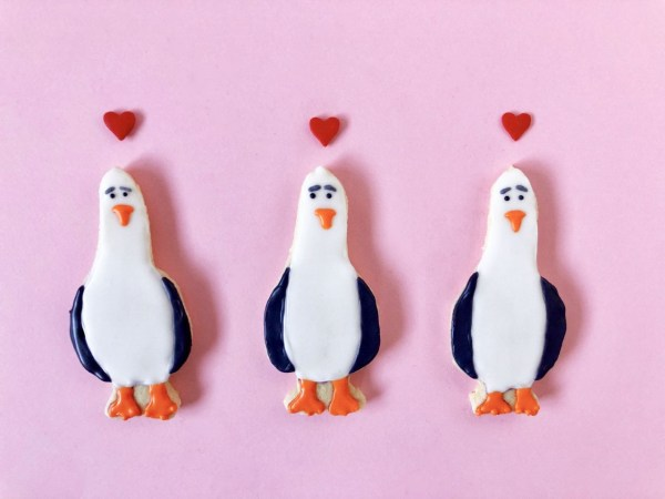 Finding Nemo Seagulls Sugar Cookies